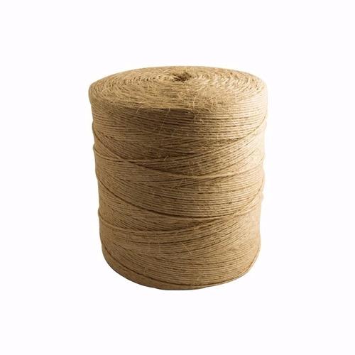 corda de sisal fio natural 3,2mm rolo 1800mt