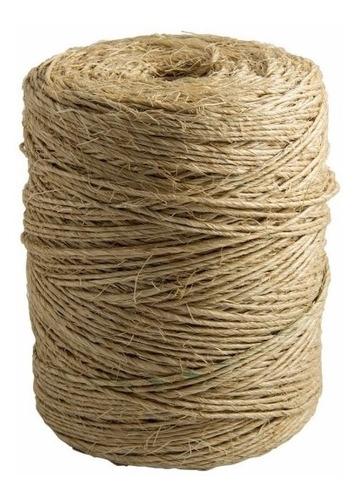 corda de sisal fio torcido natural 1 rolo