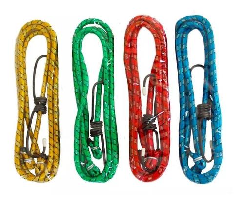 corda elástica 1,20m x 8mm kit com 4 unidades fertak tools