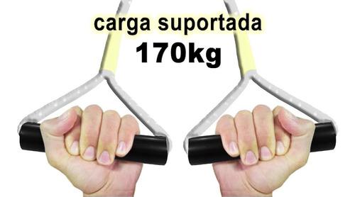 corda em suspensão tipo trx fit suspension produto promoção