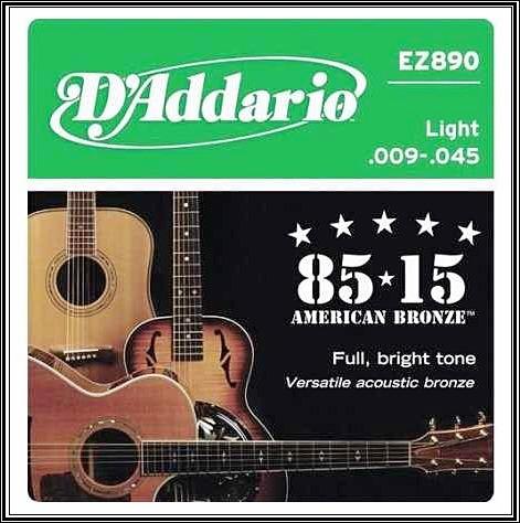 corda / encordoamento violão daddario .009 frete grátis
