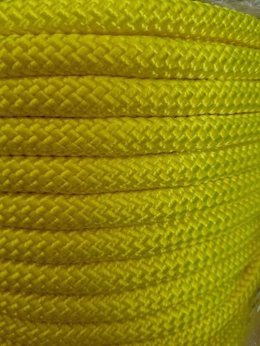 corda k2 semi-estática amarelo neon 11,5mm x 50 mts