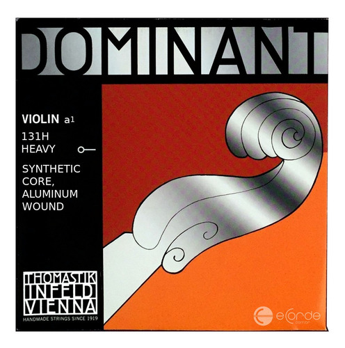 corda lá violino - thomastik dominant - rígida