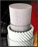 corda para raquete de tênis polyfibre gutex set 1,30 mm.