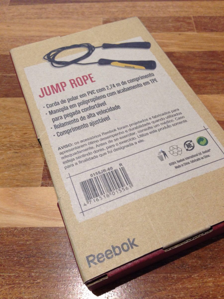 a5baf2f031 corda pular jump rope - winmax - crossfit - reebok - trocas. Carregando  zoom.