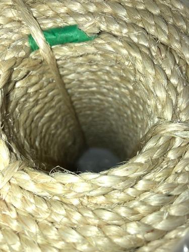 corda sisal 5mm 220mts arranhador de gato artasanato