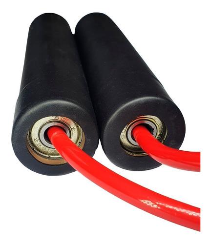corda speed crossfit spank com rolamento - vermelha