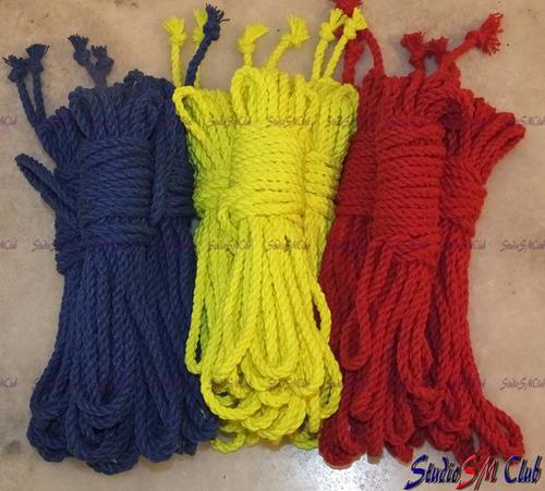 corda torcida algodão bdsm bondage shibari kinbaku restrição