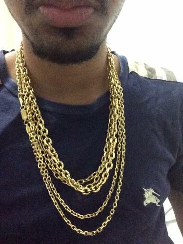 cordao cartie banhado a ouro,cartier,brinde pulseira