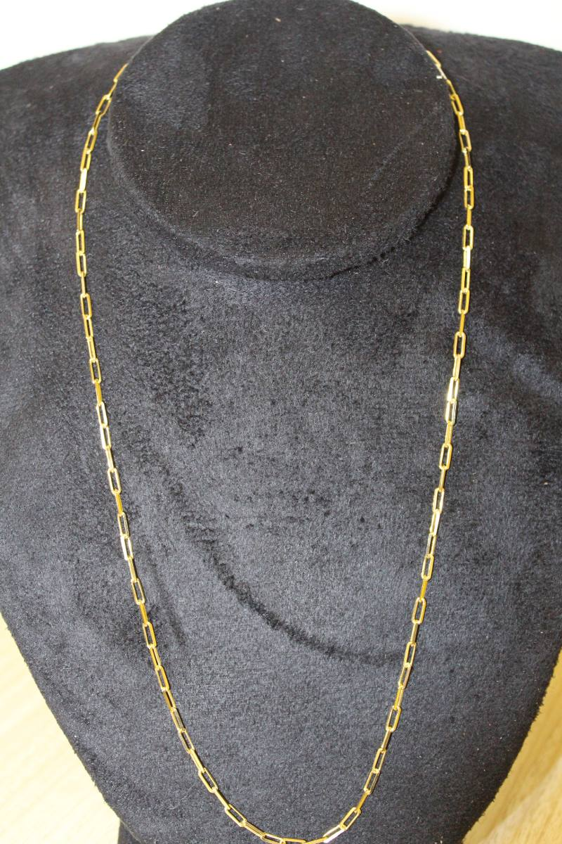 8dfdc4eaa8d Cordao Masculino De Ouro 18k 50 Cm 2mm 7gr - R  1.836