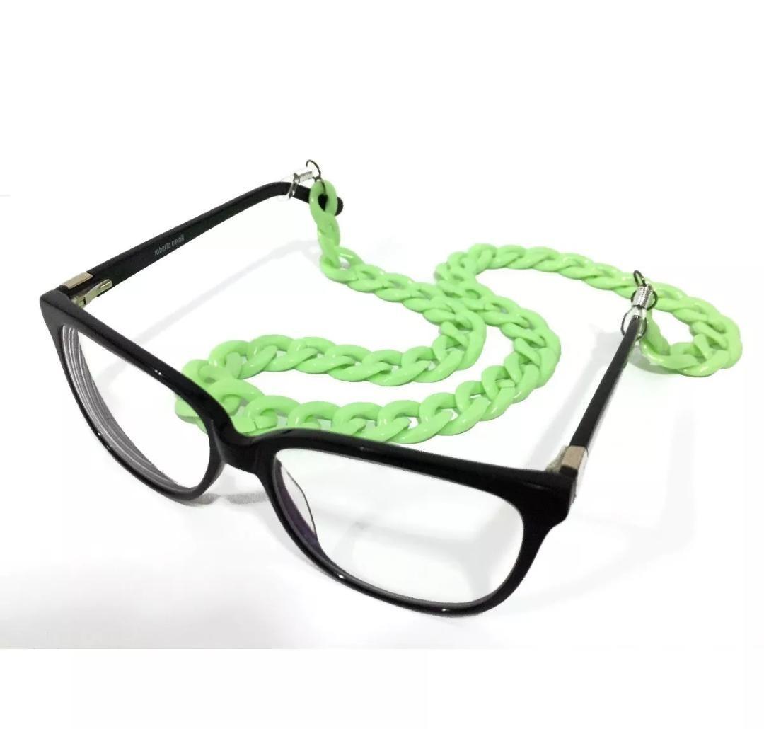 Cordao Salva Oculos Lançamento Coloridos 2018 - R  24,99 em Mercado ... 1d474fc51a