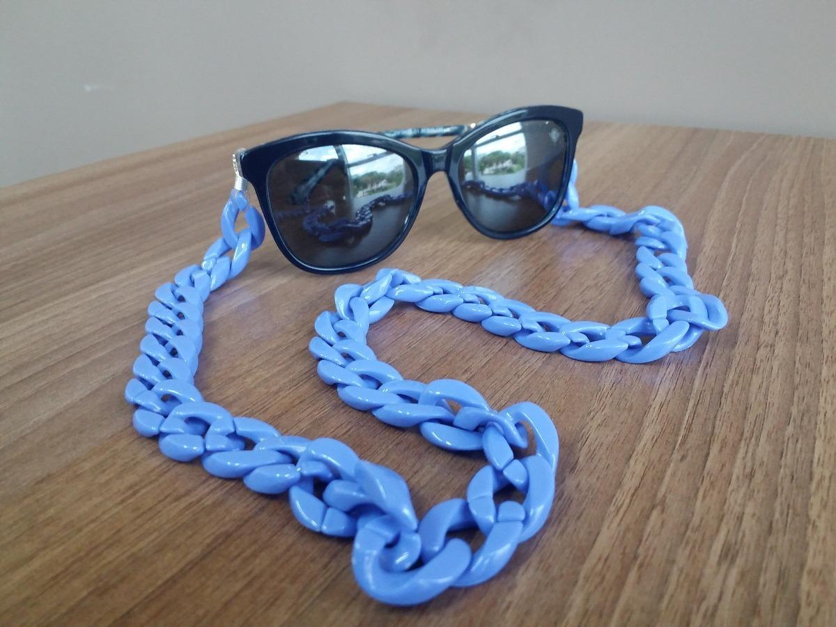 a86110f402d65 Cordinha Para Óculos - Corrente Acrílica - R  29,00 em Mercado Livre