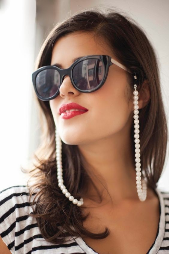 aede12165432c Cordinha Para Oculos Salva Óculos Acrilico - R  24,99 em Mercado Livre