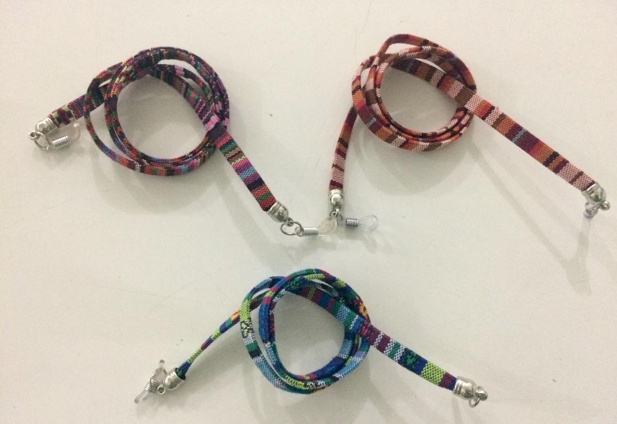 80f15c87dfdc2 cordinhas salva óculos - kit 3 colorido. Carregando zoom.