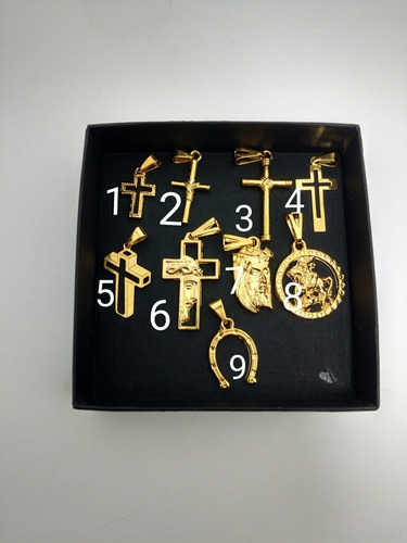 cordão 70cm banhado a ouro 18k cadeadinho + 1 pingente