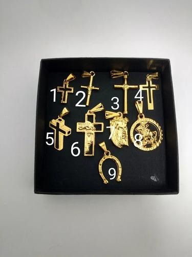 cordão 80cm+puls.cartie 4mm.banhado a ouro 18k frete gratis