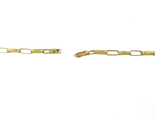 cordão cartier 10 gramas ouro 18kl 750 maciço 60 centímetros