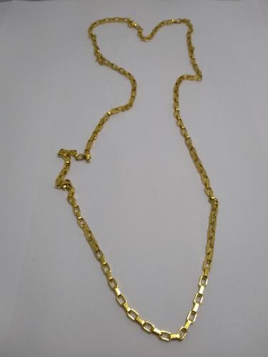 05e208ebf8b Cordão Cartier Quadrado Banhado A Ouro 18k - R  120