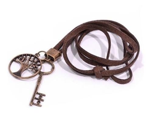cordão chave e árvore da vida - ref: c001