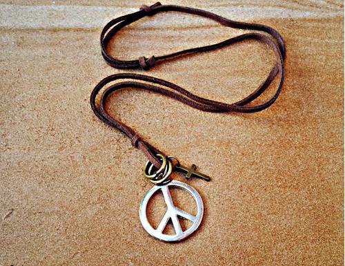 cordão colar fortune paz