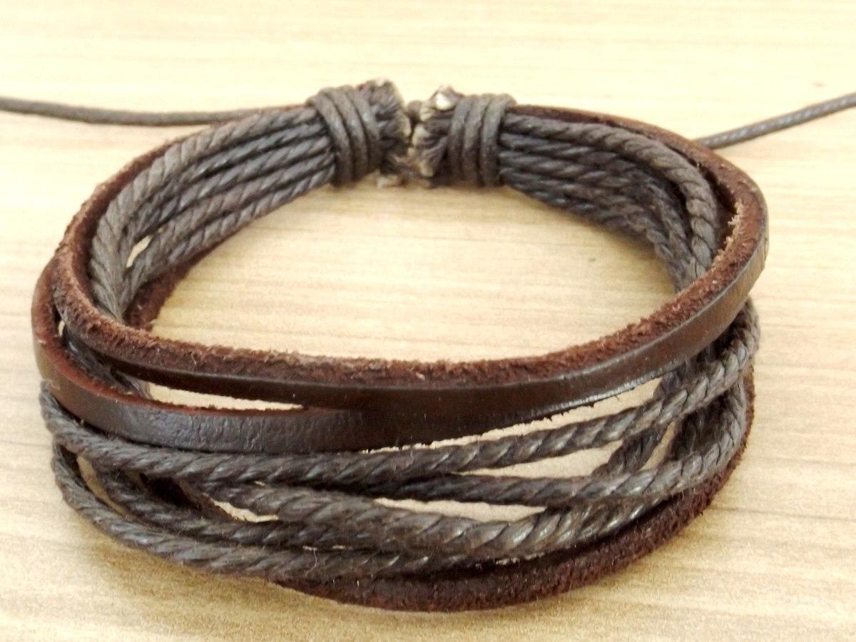 5ad8c0d3a7c cordão colar masculino armani asa pulseira couro + brinde. Carregando zoom.