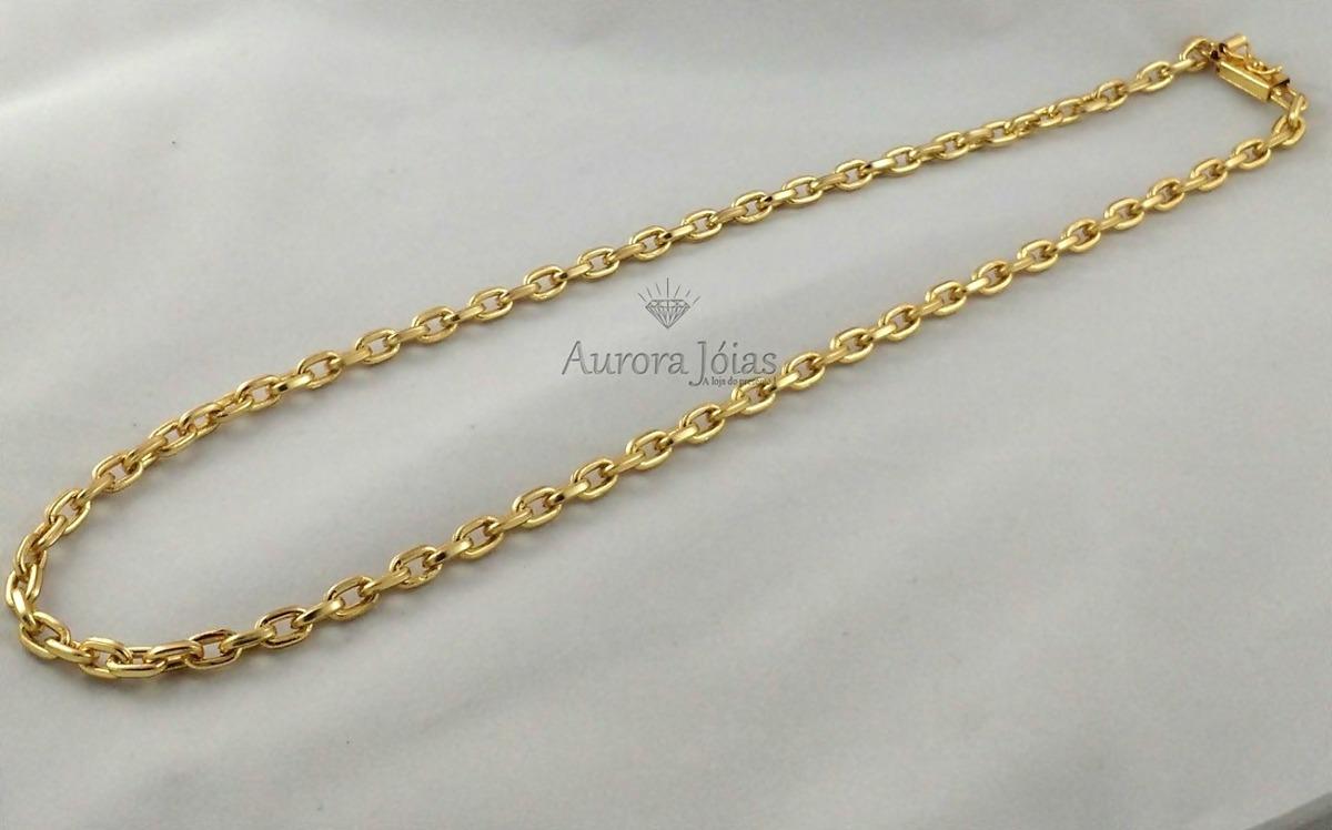 67078a2bd35 cordão corrente cartier 60cm masculina 6mm banhada ouro 18k. Carregando  zoom.