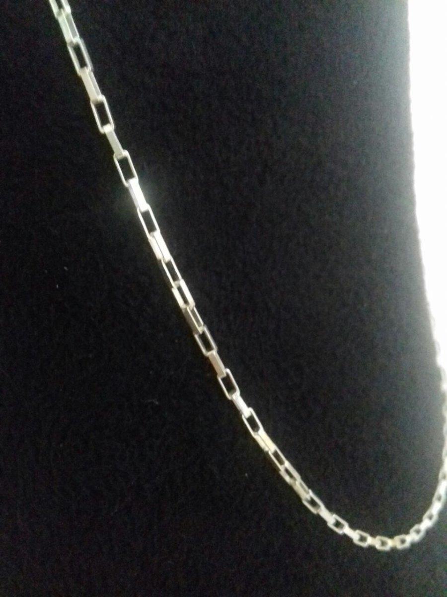 123a2fdc597 cordão corrente cartier 70cm em prata 925. Carregando zoom.