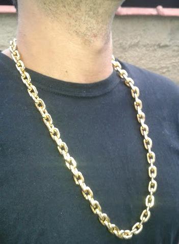 86aaecaa314 Cordão Corrente Cartier Banhada Ouro 18k - 70cm - 190gramas - R ...