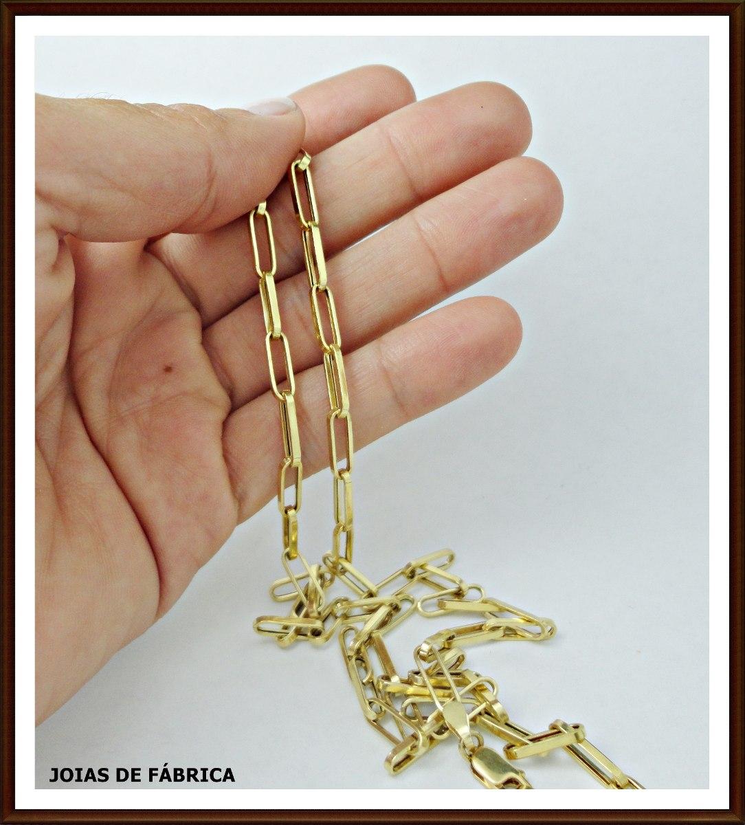 436dfe795d2 ... corrente cartier em ouro 18k com 70cm. Carregando zoom.