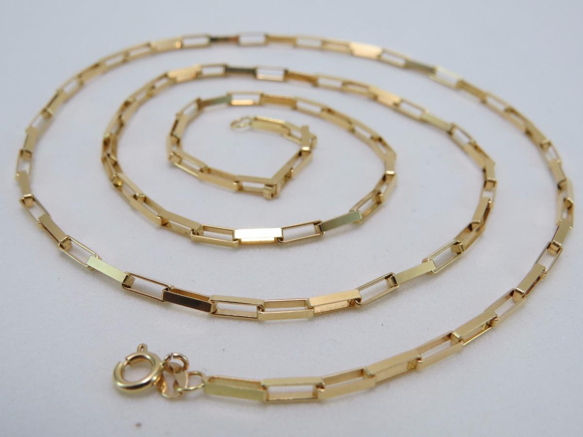 7daa592aec5 cordão corrente cartier grossa 60cm ouro 18k 750 maciça n. Carregando zoom.