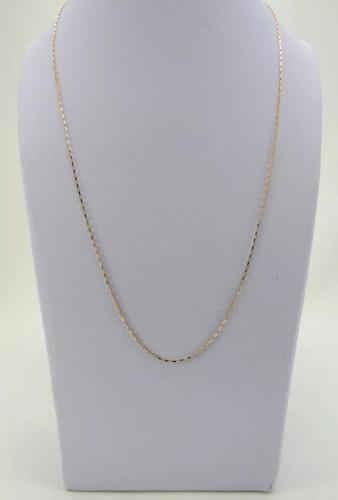 cordão corrente cartier masculino em ouro 18k-750 com 60 cm