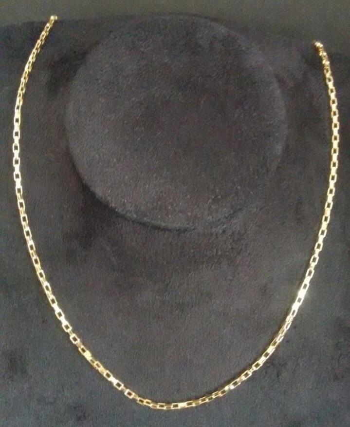 44710dcbf7e cordão corrente colar masculino cartier folheado ouro 18k. Carregando zoom.