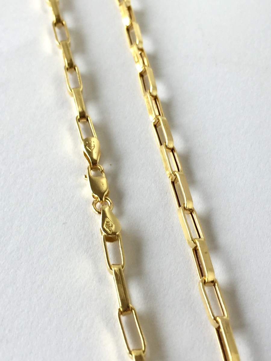 f19bb49aab0 Cordão Corrente De Ouro 18k Cartier 60 Cm 6