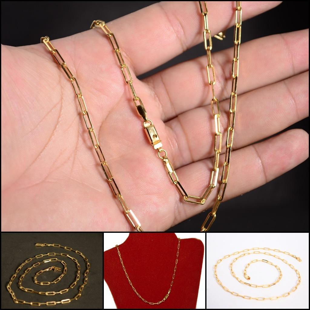 3967794a491 cordão corrente masculina cartier banhada ouro 18k promoção. Carregando  zoom.