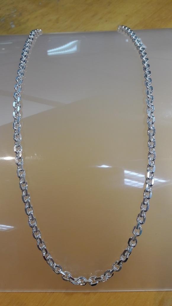 286896695e7 cordão corrente masculina prata 925 maciça cartier cadeado. Carregando zoom.