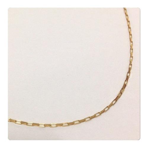 cordão corrente masculino 60cm de ouro 18k com 2 grs