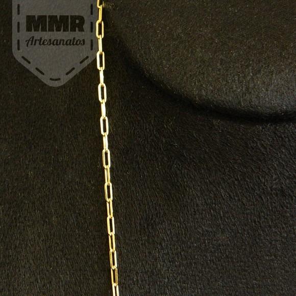 71e2a99c344 Cordão Corrente Masculino Cartier Folheado Ouro 18k 750 - R  158