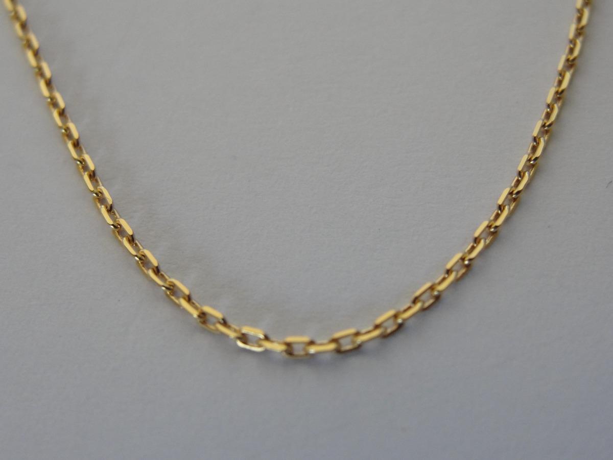 Cordão Corrente Ouro 18k Maciço Malha Cartier Feminino