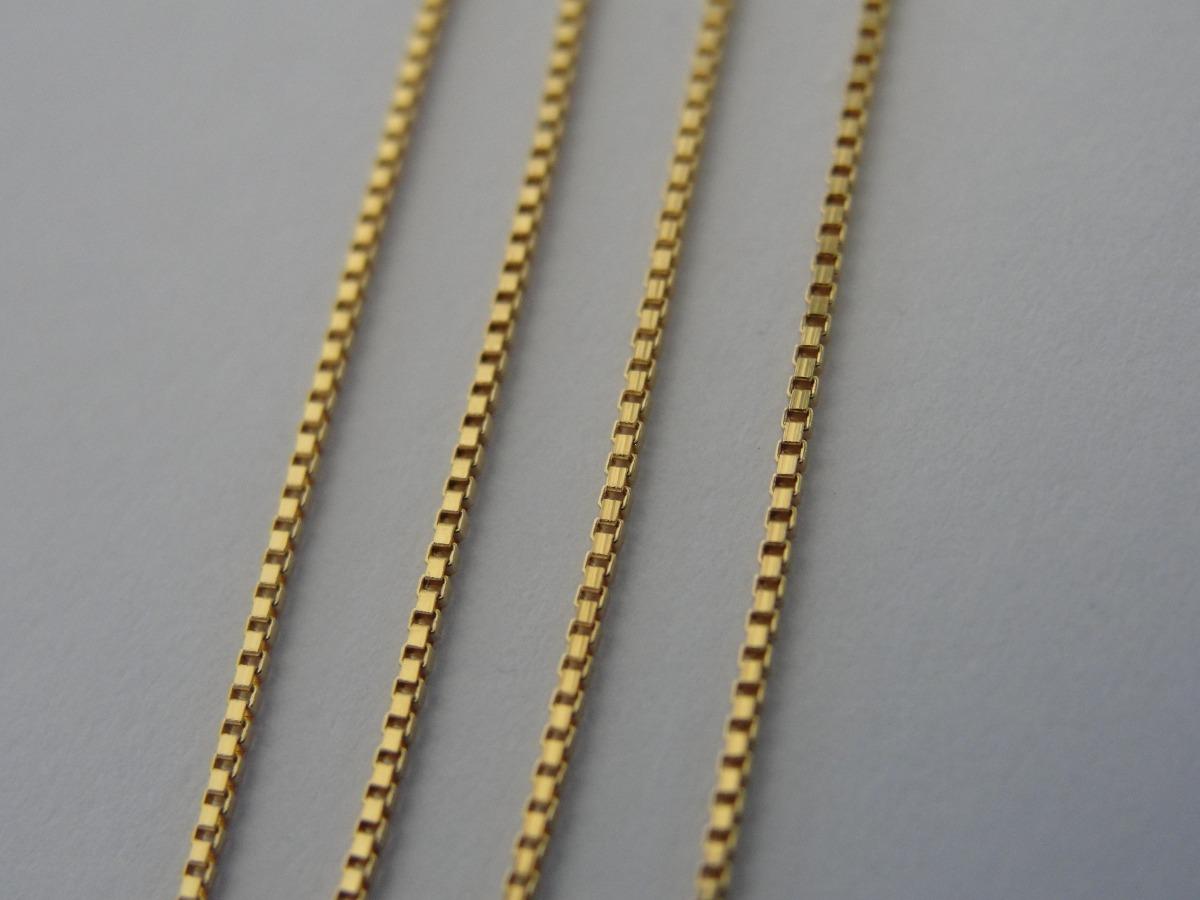 6d6758e181dbb cordão   corrente ouro 18k masculino - malha veneziana. Carregando zoom.