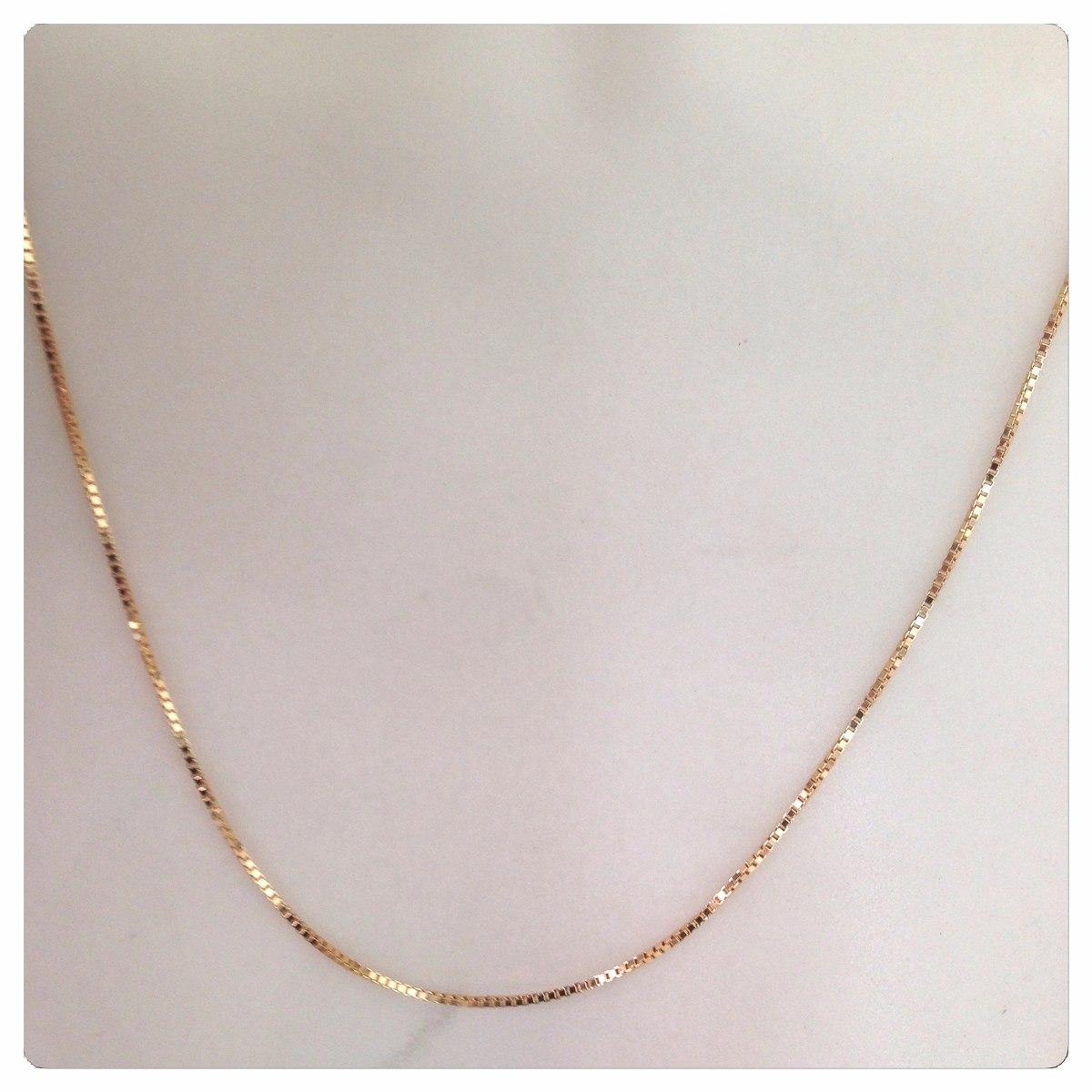 7db8d9afbb001 cordão corrente veneziana italiana 60cm em ouro 18k- maciça. Carregando  zoom.