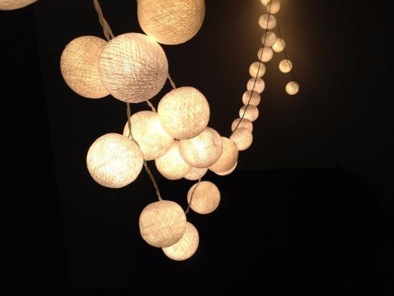 38e868b11 Cordão De Luz - Led Decorativa De Bolinhas - R  54