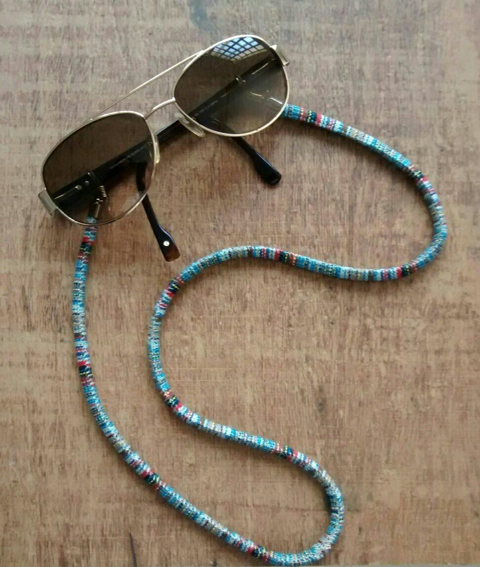 Cordão De Óculos Salva Óculos Étnico (cada 1) - R  20,00 em Mercado ... 12cacc580f
