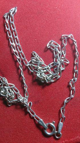 cordão elos em prata 925 /com 3,50 gramas/frete grátis