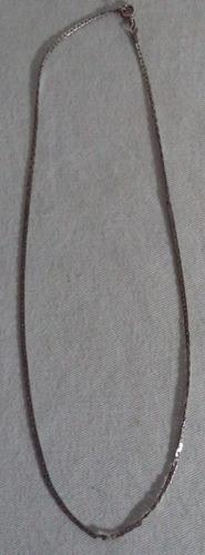 cordão em prata de lei número 14