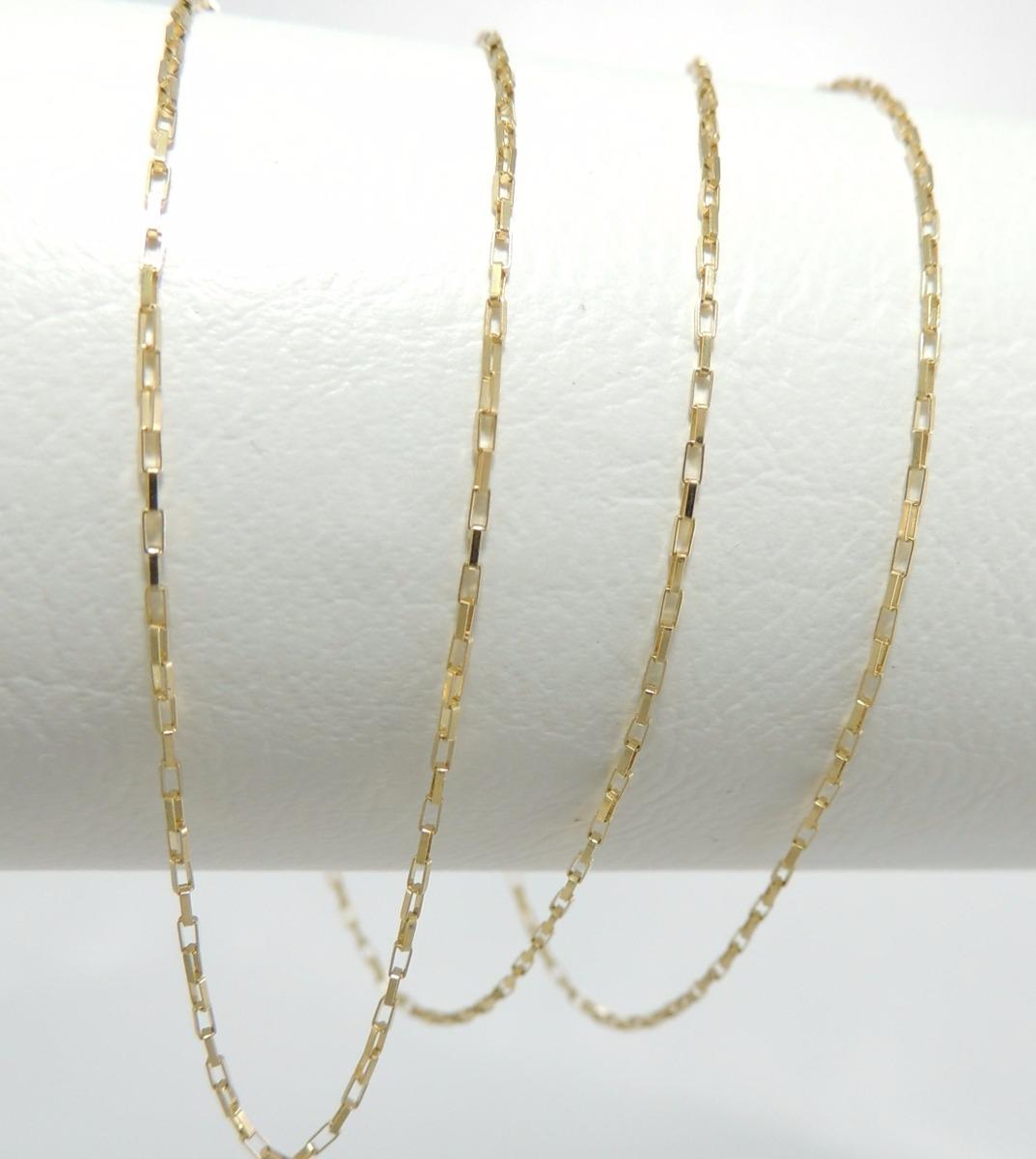 58f1db13774 cordão feminino cartier chapinha 50 cm ouro 18k 750. Carregando zoom.