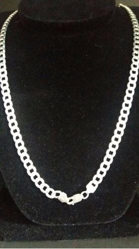 cordão italiano 70cm grumet em prata 925 frete-grátis