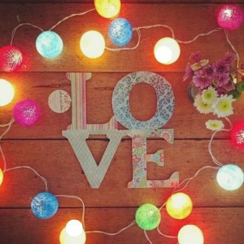 cordão luz bolinha / luminária bolinha /bolinha colorido