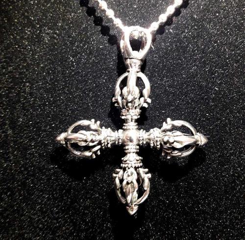 cordão masculino aço inoxidável crucifixo tribal cruz viking