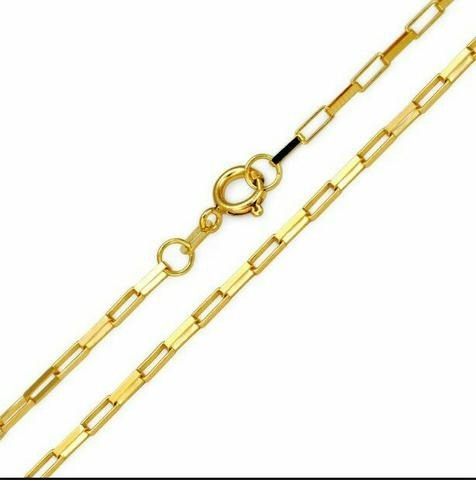 c3eb2979f45 Cordão Masculino Cartier Folheado A Ouro 18k - R  90