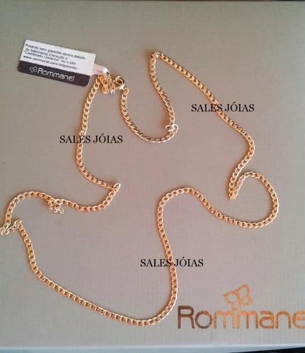 cordão masculino rommanel 70cm 531878